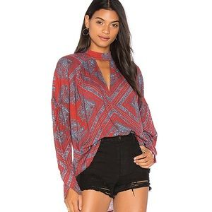 Revolve Free People Walking on a Dream Tunic Top